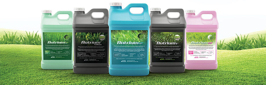 Nutrium premium turf amendment agents