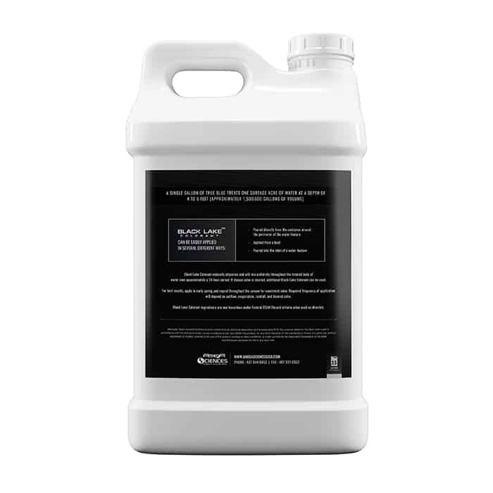 Black Lake Colorant Back