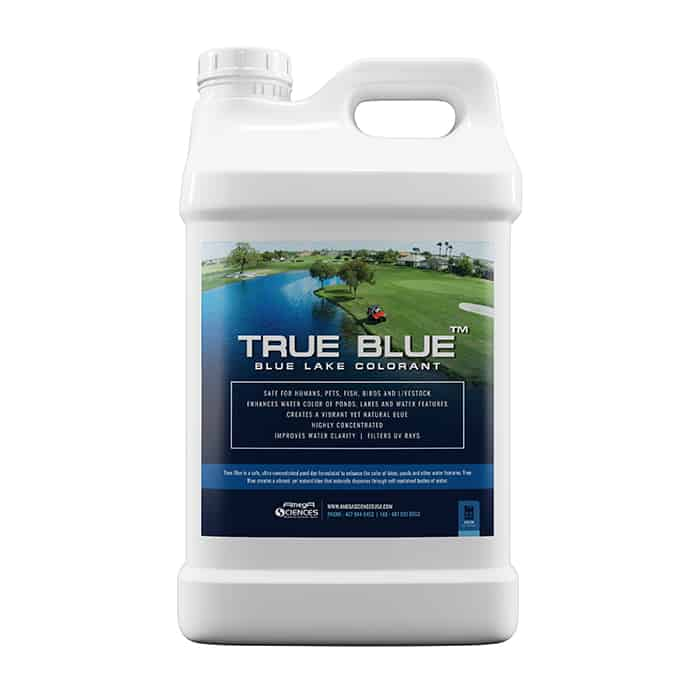True Blue Pond Dyes