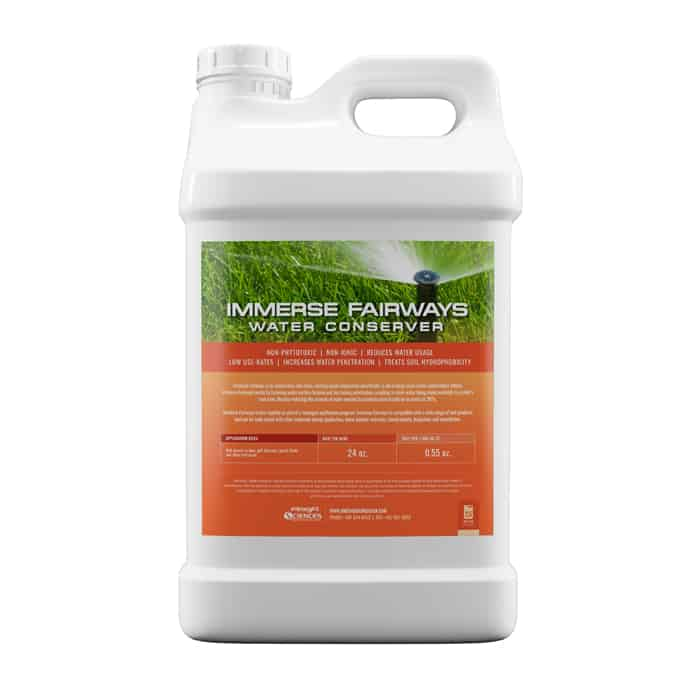 Immerse Fairways Water Conserver Wetting Agents
