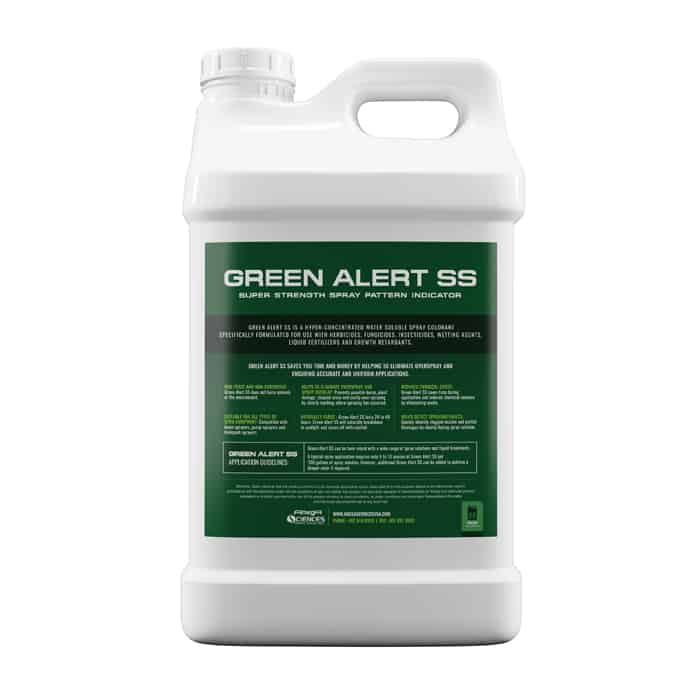 Green Alert SS Spray Pattern Indicator