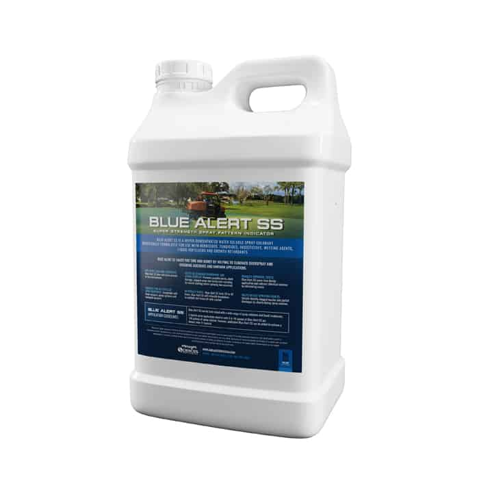 Blue Alert Spray Pattern Indicator