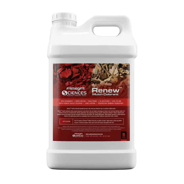 Red Mulch dye bottle