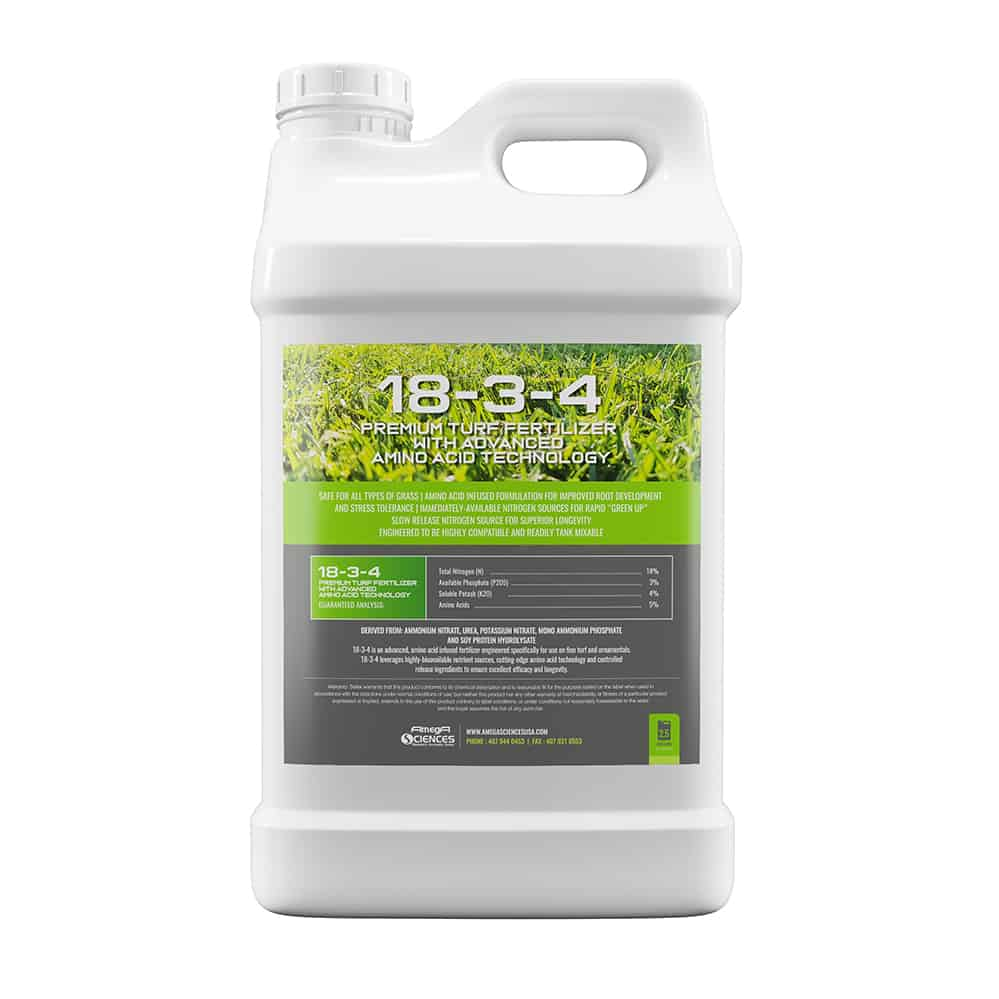 Fertilizer with Aminos